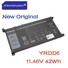 JCbatterystar New Original YRDD6 Laptop Battery for Dell 7368 7378 14-7460 15 7560 Series Notebook 0