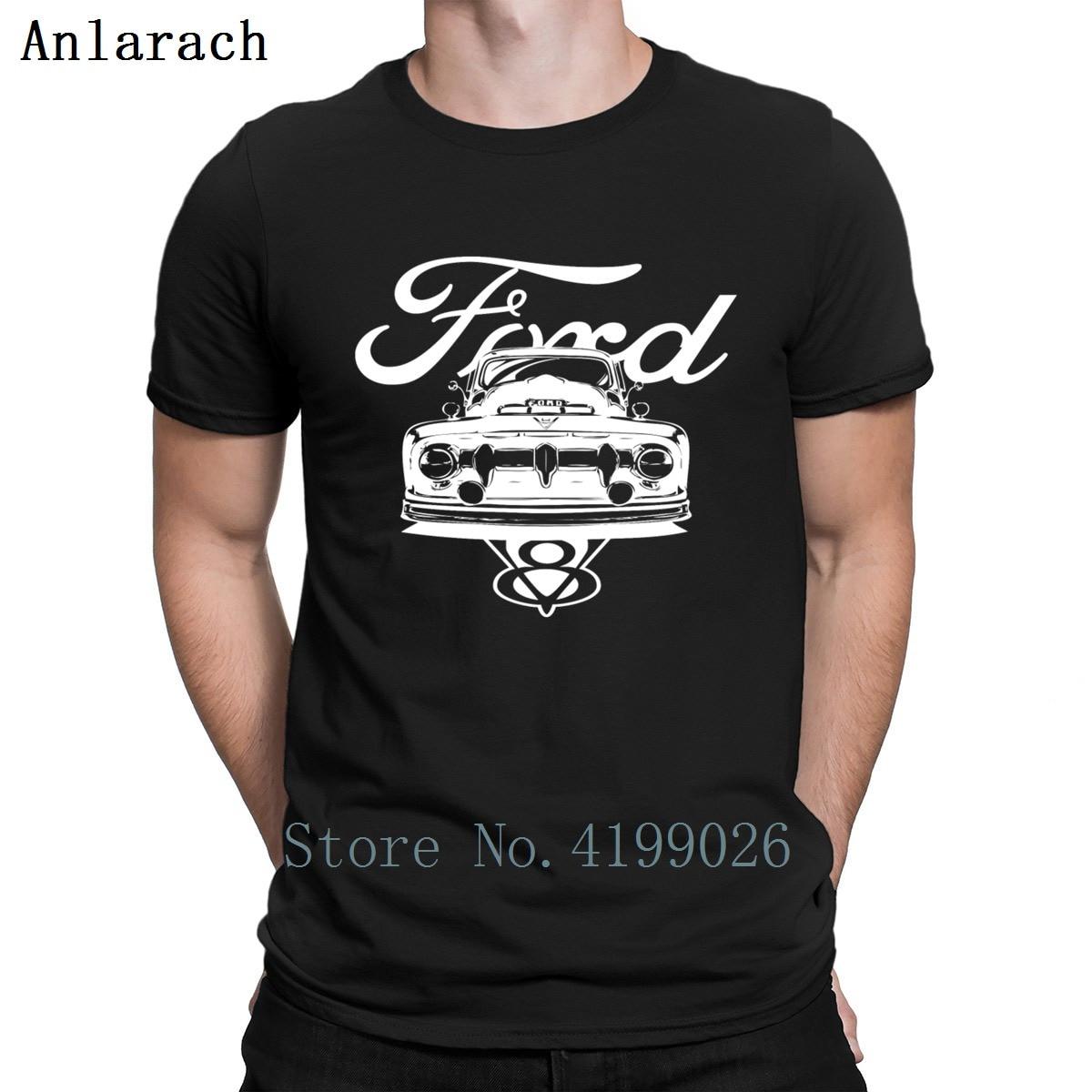 Nuevo 1952 Forde Pickup Shirt camiseta Super Hiphop marca Original algodón camiseta para hombres impresión masculina 2018 camisetas gráficas hombres