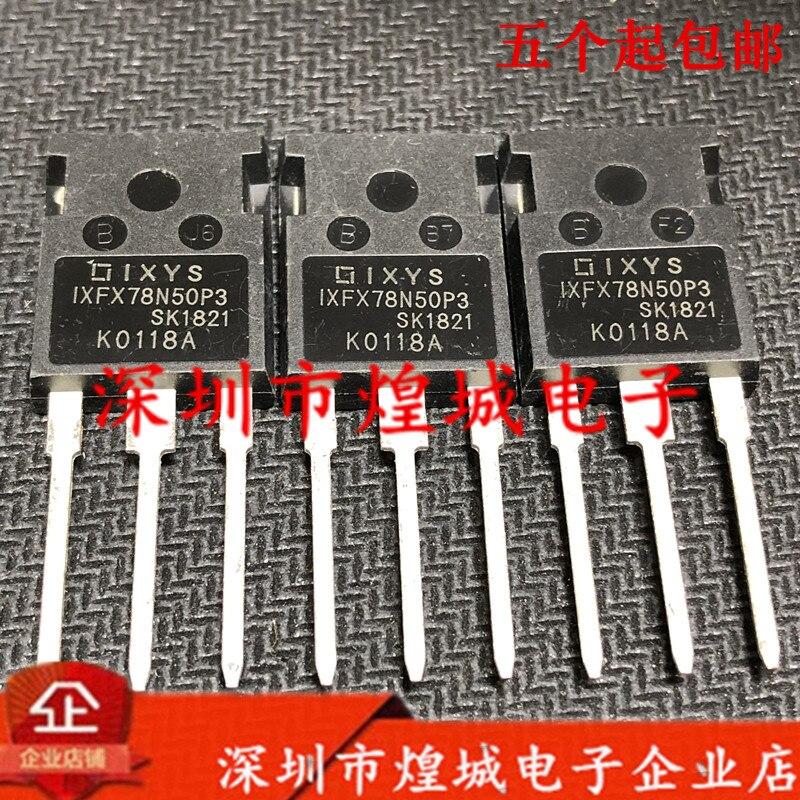 10 قطعة/الوحدة IXFX78N50P3 إلى 247 500V 78A 5