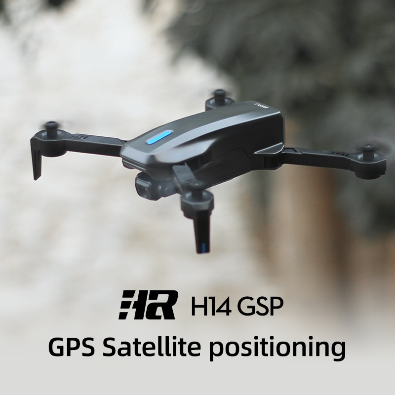 BABY DAIRY H14 RC Drone 2.4G/5G GPS 4k HD Dual Camera Foldable Quadcopter WIFI FPV 75 Degree Electric RC Drone Toys For Boys enlarge