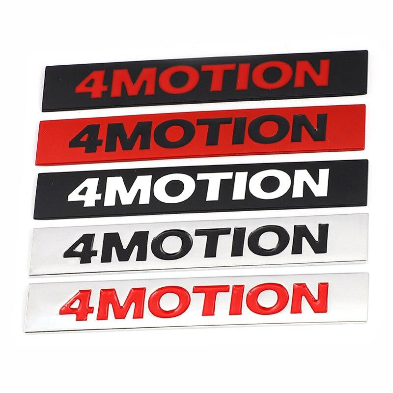 Etiqueta do carro auto 4 movimento logotipo emblema remontagem distintivo decalque para volkswagen tiguan 4 movimento vw golf 4 7 gti touareg arteon toyota