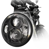 5 75 inch 51w osram led round spider motorcycle headlight with hl beam for triumph speed triple 2005 2010 rocke 5 34 headlamp