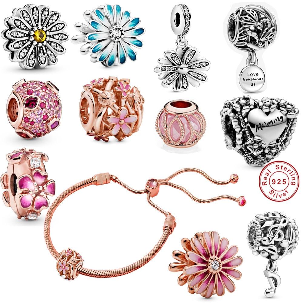 Mother's Day jewelry gift charm silver 925 origimal 2020 friendship bracelet bracelets for women