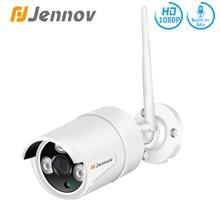 Jennov-caméra HD IP 2 mp   Surveillance vidéo dextérieur Wi-fi, caméra de sécurité résistant aux intempéries, carte SD intégrée, vidéosurveillance, enregistrement Audio 1080P