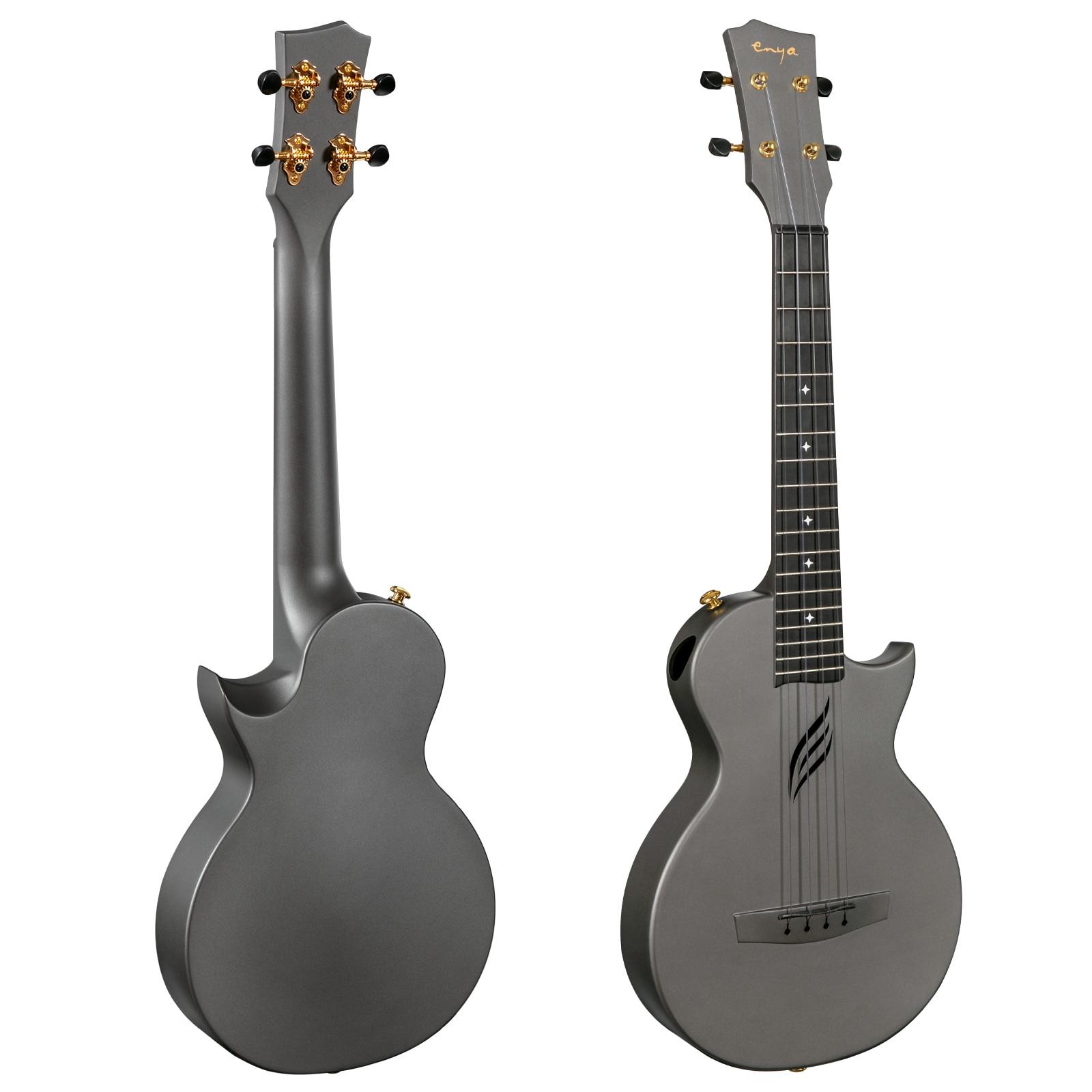 Enya Tenor Ukulele 26 Inch Carbon Fiber Cutaway Travel Ukelele Music Instrument Beginner Kit Including Case Strap Capo Strings enlarge