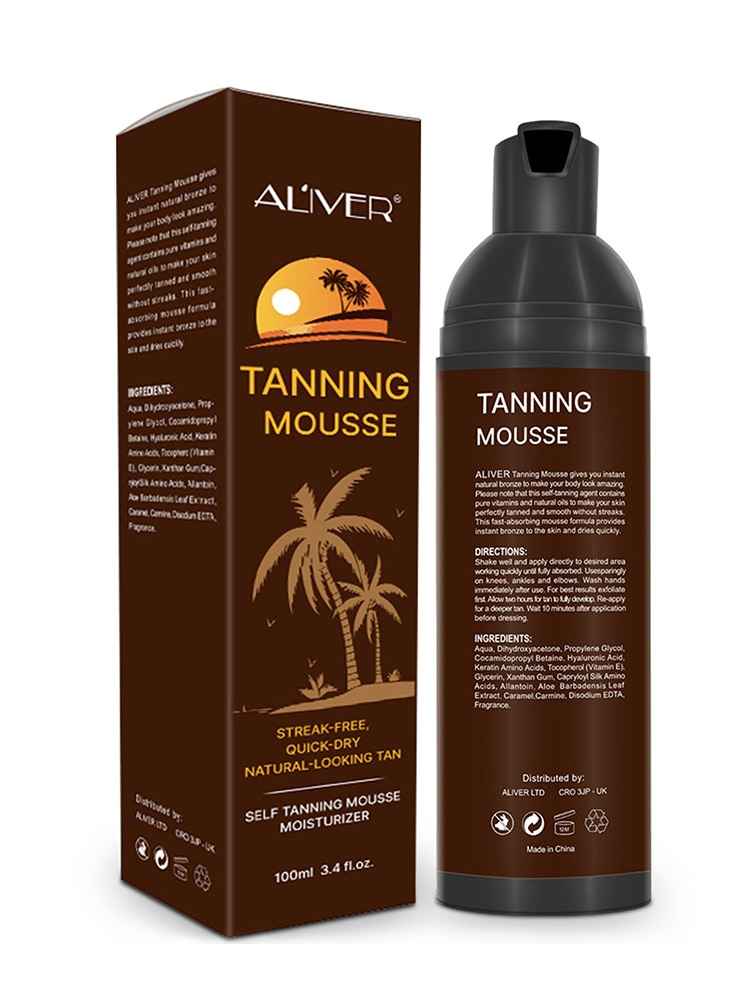 AliExpress - 100ml Body Tanning Cream Wheat Long Lasting Sunless Self Tanner For Skin Long Lasting Sunless Tanning Mousse