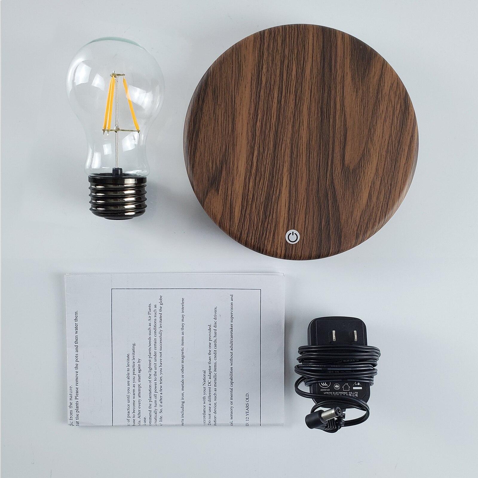 Magnetic Levitating Lamp Bulb Novelty Lighting Creative Night Light Desk Decor Table Lamp Room Decor For Bedside Bedroom Desk enlarge