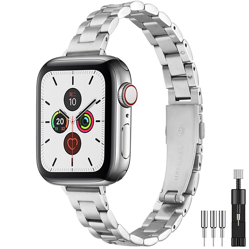 women-stainless-steel-band-for-apple-watch-6-se-40mm-44mm-slim-metal-link-bracelet-strap-for-iwatch-series-5-4-3-2-38mm-42mm