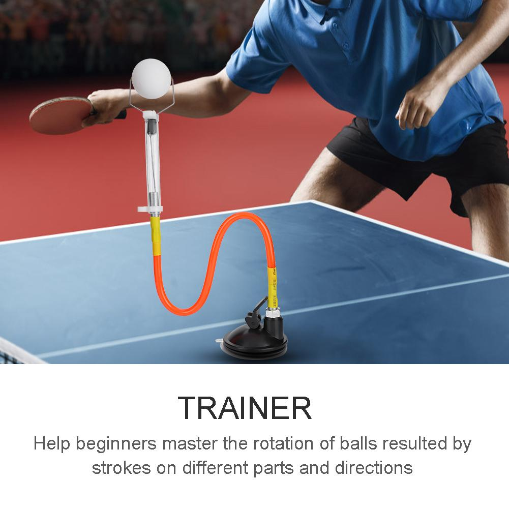 magideal sucker base table tennis stroking training aid trainer action practice machine strong stability and good flexibility Professional Table Tennis Training Robot Fixed Rapid Rebound Ping Pong Ball Machine Table Tennis Trainer for Stroking