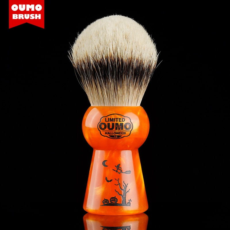 OUMO BRUSH-Halloween limited shaving brushes with 11-20 code