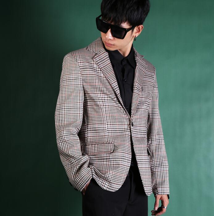 De lentejuelas con efecto láser chaqueta para hombres diseños Chaqueta Hombre cantantes de escenario ropa de baile estilo estrella vestido punk masculino homme