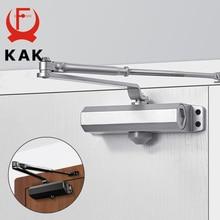 KAK-amortiguador hidráulico automático para puerta, equipo de cierre de velocidad ajustable de 25KG a 80KG, Hardware silencioso para puerta de cierre suave