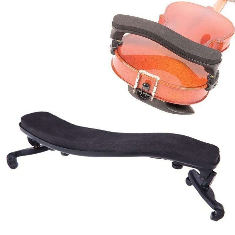 3/4 4/4 borracha violino ombro resto apoio ajustável para ângulo de altura preto violino uso