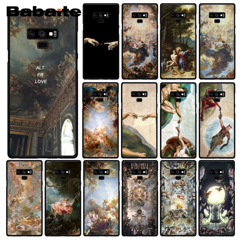 Babaite palace versailles creación Adam gran arte estético caso de teléfono para Samsung A50 S10 más S10E Note9 Note8 7 10 Pro