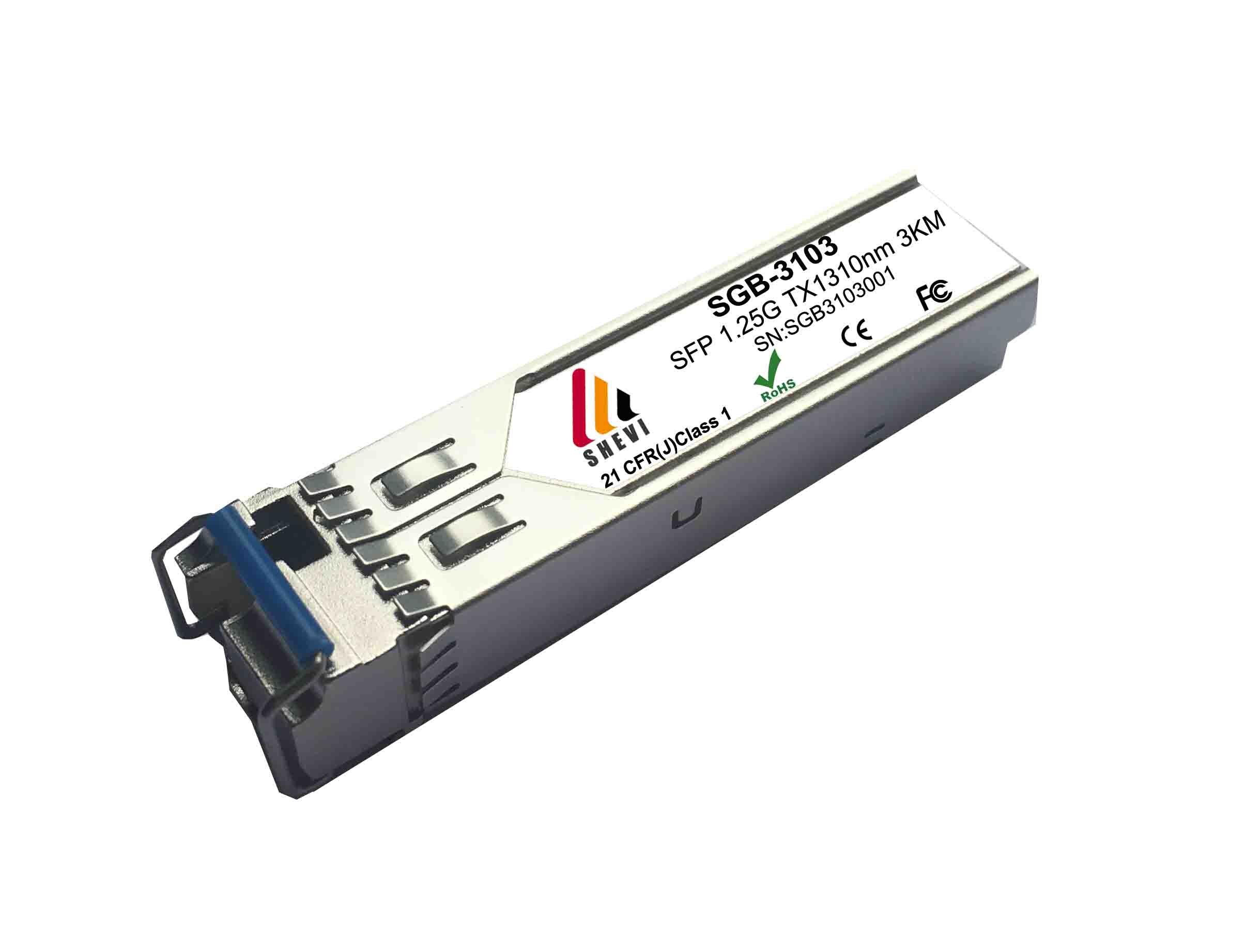 1310/1550nm LC BIDI SFP 3km optical fiber transceiver sfp module 1.25G