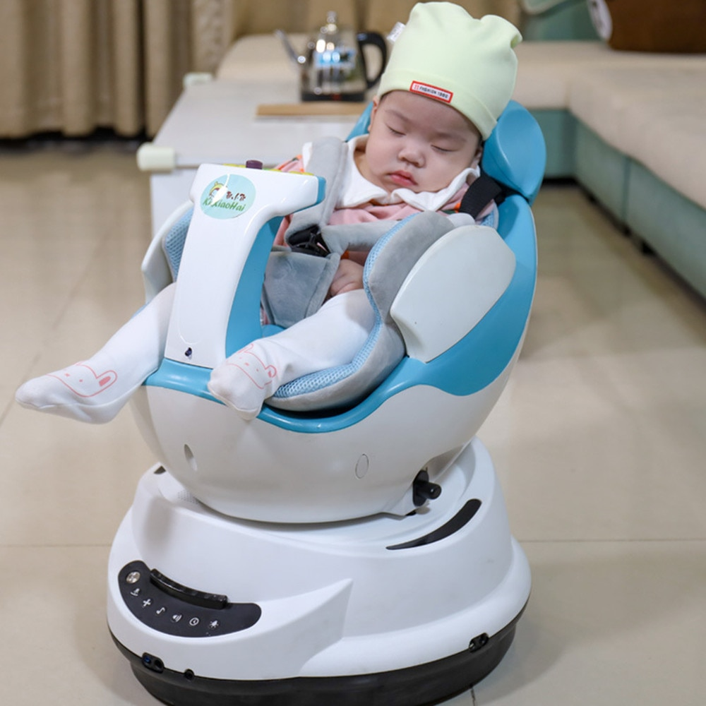 Smart Music Baby Rocking Chair Indoor Remote Control Electric Car Baby Balance Newborn Auto Swing Bounce enlarge