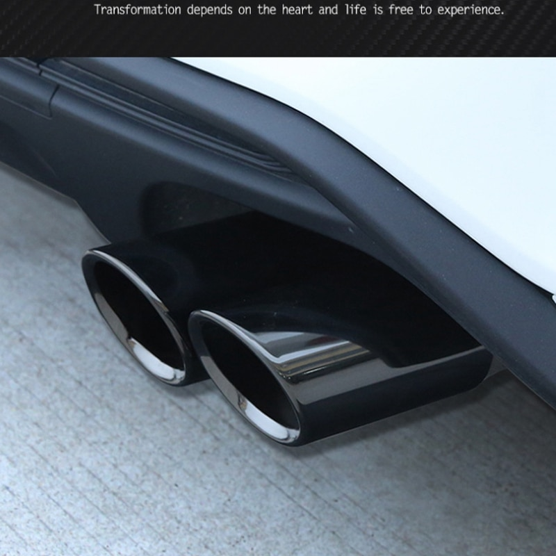 Car Exhaust Pipe Car Exhaust Pipe Car Tail Throat for Ford Focus MK4 2018-2020