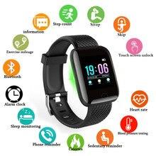 VIP LINK D13 Smart Horloge Mannen Bloeddruk Smartwatch Vrouwen Hartslagmeter Fitness Tracker Horloge Sport Voor Android IOS