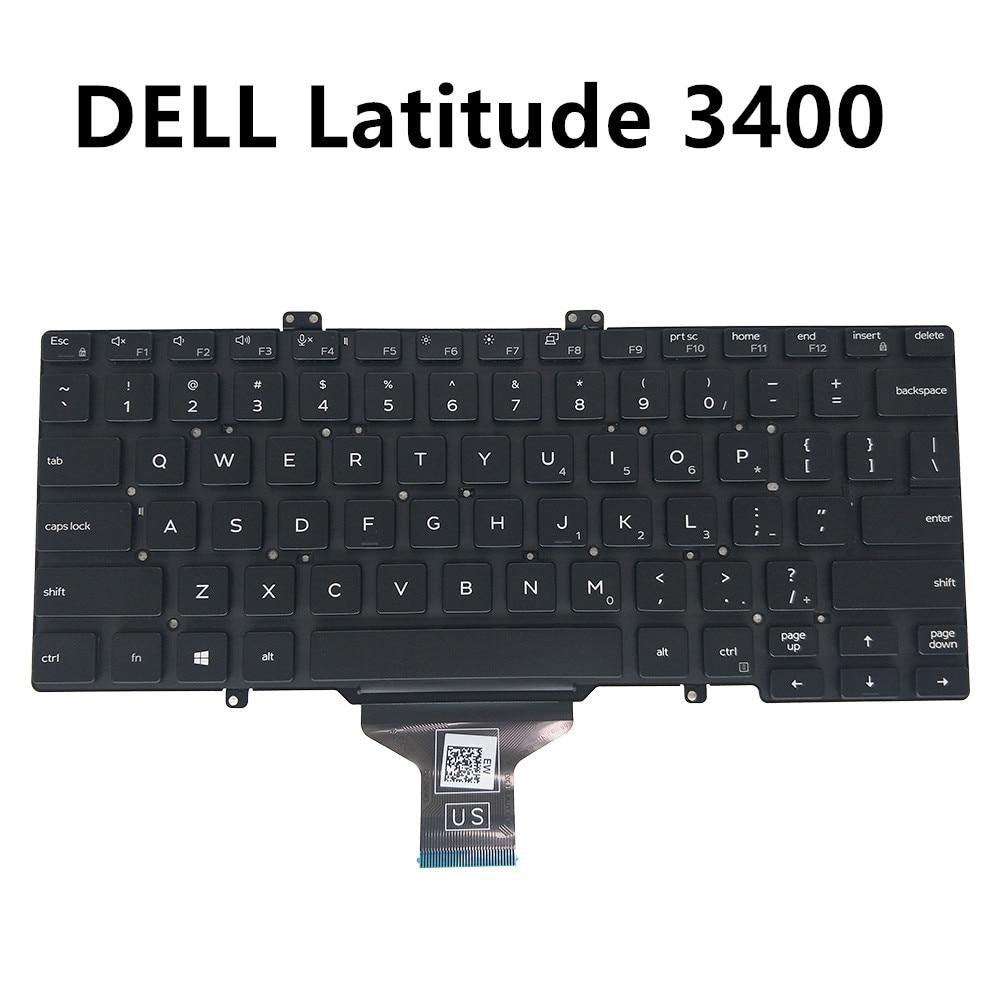 UNS Englisch USA tastatur für Dell latitude 5400 5401 7400 3400 schwarz kein rahmen specs 0GY5TC GY5TC CN-GY5TC 0GY5TC-DFH00