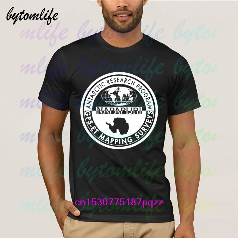 Camiseta de Napapijri de moda, camiseta negra estampada de verano, camiseta Popular, camisetas de algodón, increíble Camiseta de manga corta única para hombres