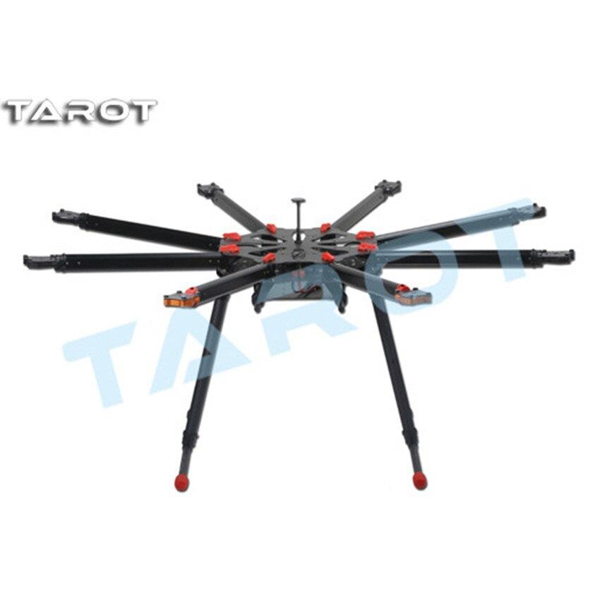 Tarot-rc TL8X000 X8 helicóptero aéreo multieje Marco de fibra de carbono multifunción profesional/marco multiusos para Dron