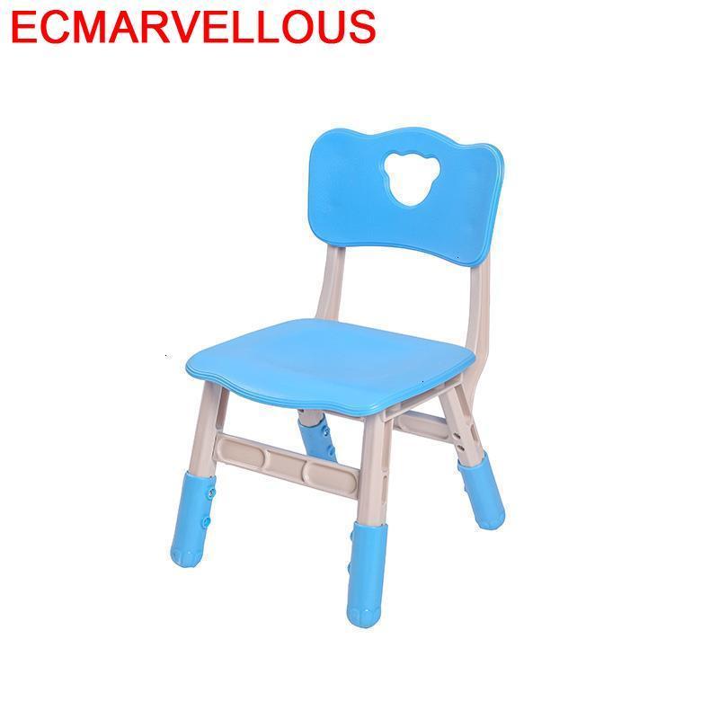 Tabouret para Silla Madera PUF Dinette Chaise para niños bebés ajustable Cadeira muebles infantiles Silla para niños