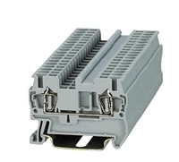 st3 2 5 spring terminal block din rail screwless connector phoenix contact st electric wire conductor