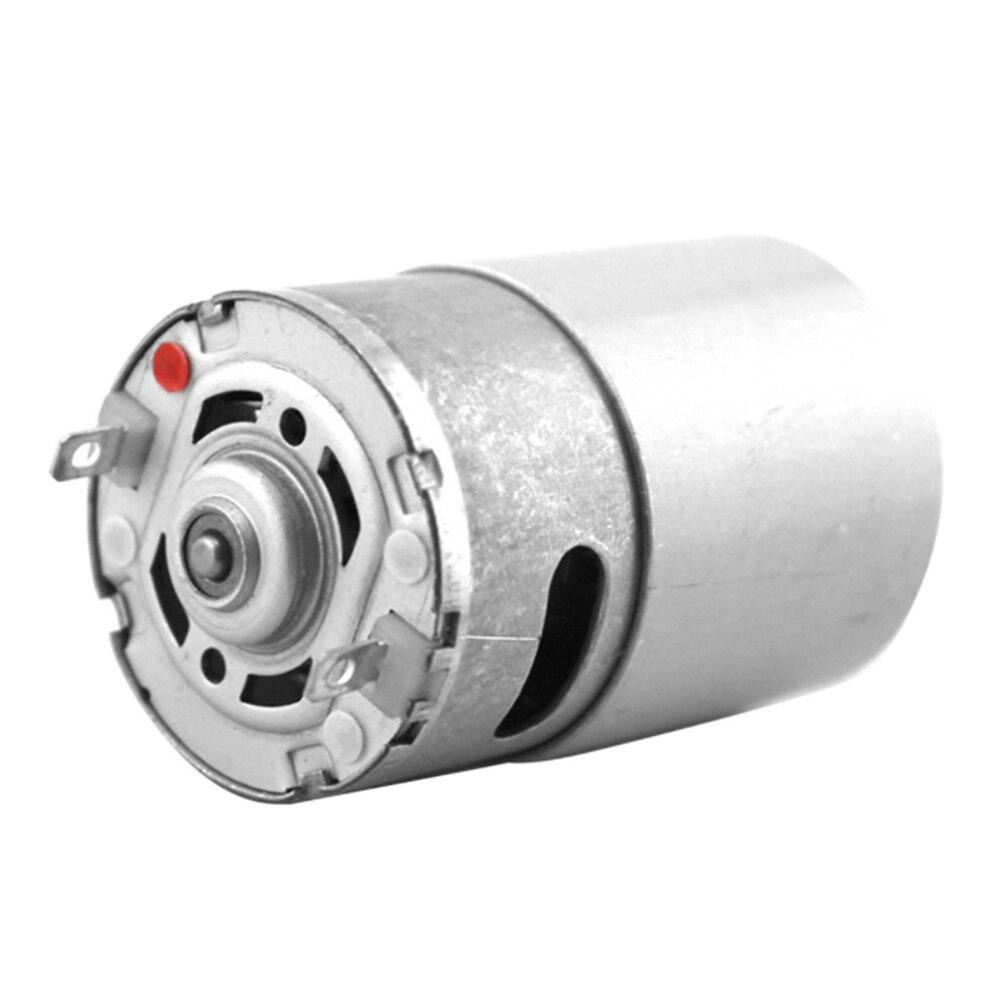1 pcs 550 dc motor 12v 20000rpm de alta potencia do motor de alta velocidade diy