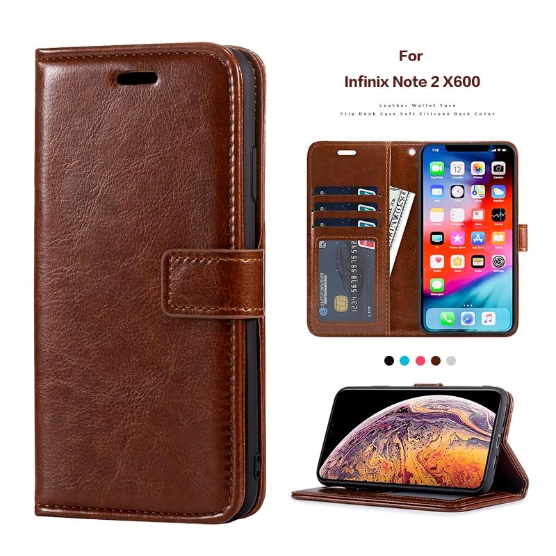 Funda abatible de cuero para Infinix Note 2 X600 tarjetero funda de silicona para Infinix Note 2 X600 funda de negocios
