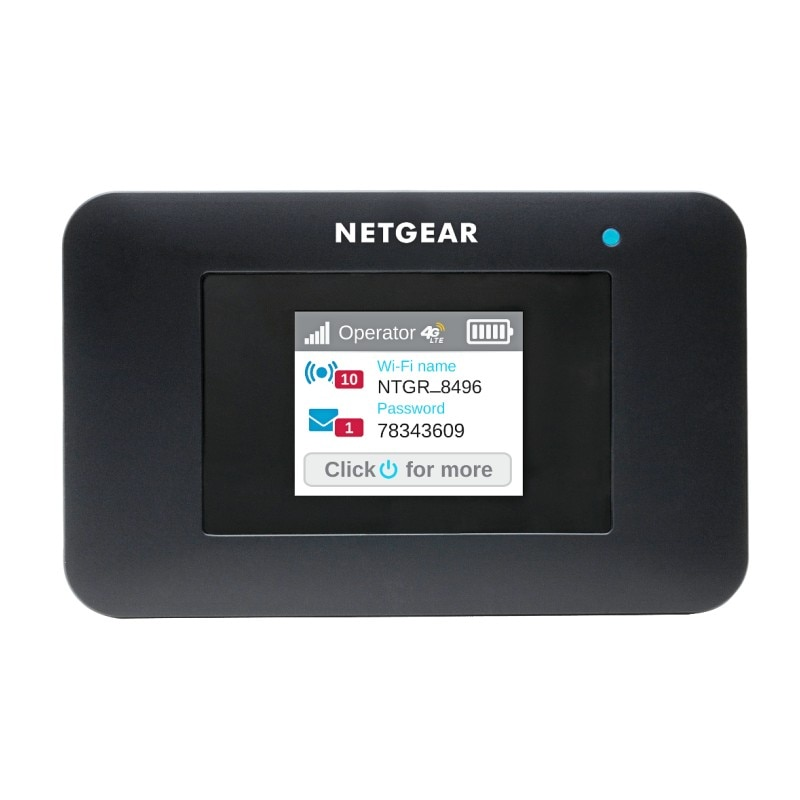 Netgear Aircard AC797s 400Mbps 4g Mini Wifi Color Touch Screen 4G Wifi Router
