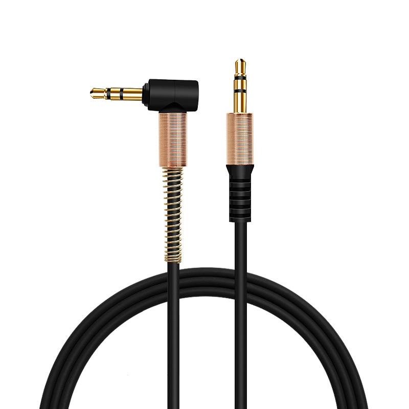 Cable de Audio Jack 3,5 para altavoces, Cable de 3,5mm para altavoces, Cable Aux para iPhone 11 Pro Max Samsung, Cable de Audio para altavoces de coche