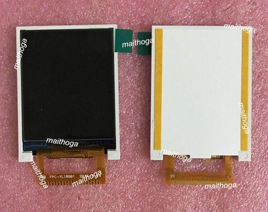 1,77 pulgadas 20PIN SPI TFT pantalla LCD en Color GC9106 conducir IC 128 (RGB) * 160