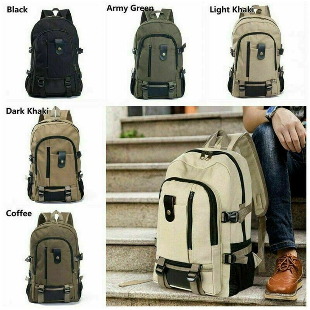 Новинка 2021, дорожный рюкзак, мужской рюкзак для мальчиков, вместительная школьная сумка, мужской холщовый рюкзак, рюкзак для кемпинга и похо...