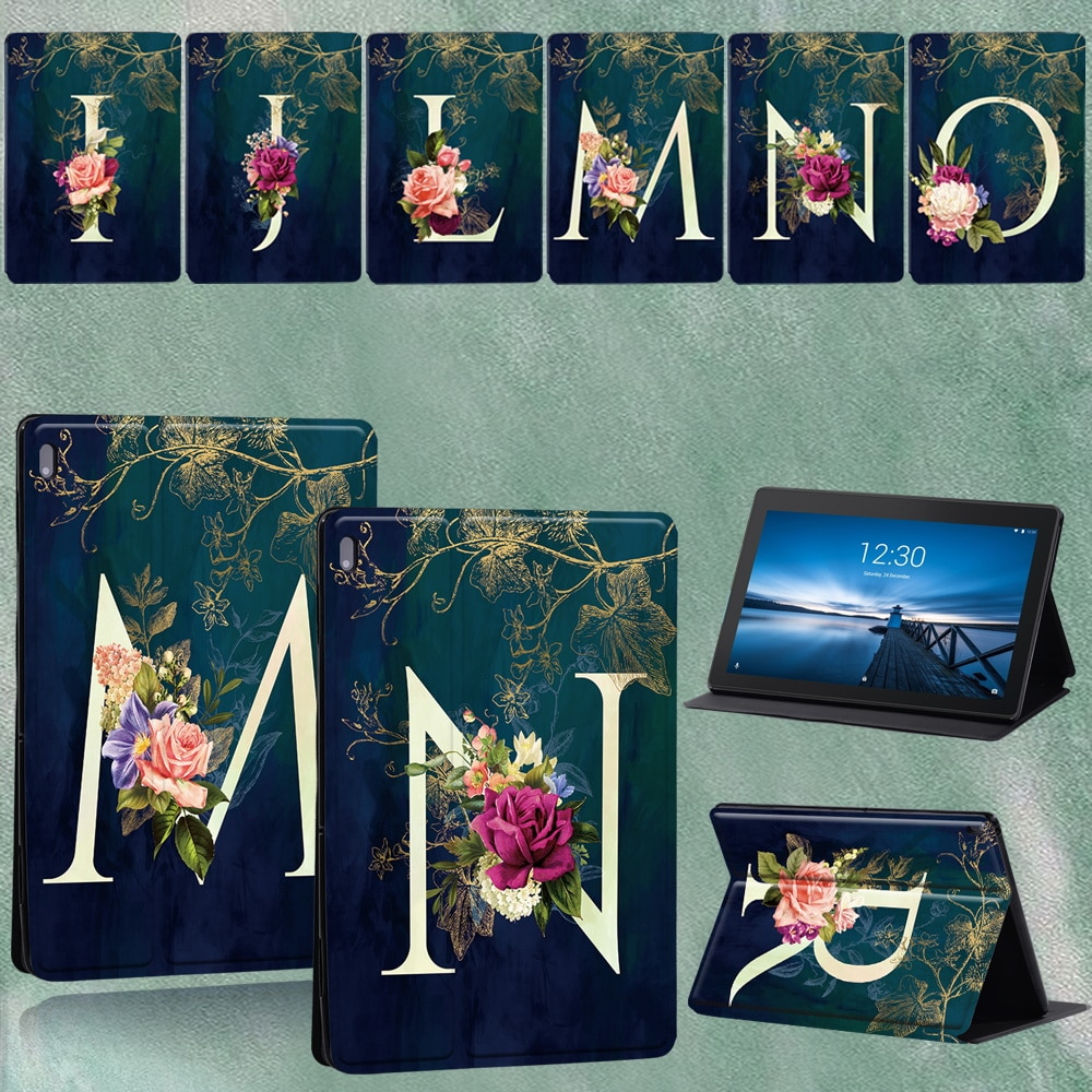 For Lenovo Tab M10 Plus TB-X606F/TB-X606X/Tab E10 10.1 TB-X104F TB-X104L Leather Tablet Cover for Tab M10 TB-X605F 10.1 Case