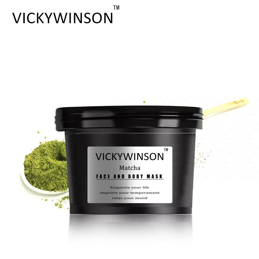 VICKYWINSON Matcha scrub cream 50g Facial Scrub Green Tea Body Exfoliating Moisturizing Cutin Dead Skin Removal Gel Body Care недорого