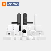 Xiaomi Aqara     passerelle intelligente 3 M1S Hub G2H  appareil photo mural sans fil  interrupteur dhumidite  porte fenetre  capteur de corps deau  Module relais HomeKit