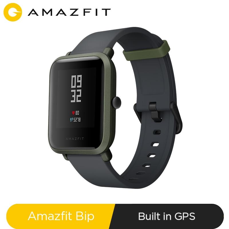 Original Amazfit Bip Smart Watch Bluetooth GPS Sport Heart Rate Monitor IP68 Waterproof Call Reminde