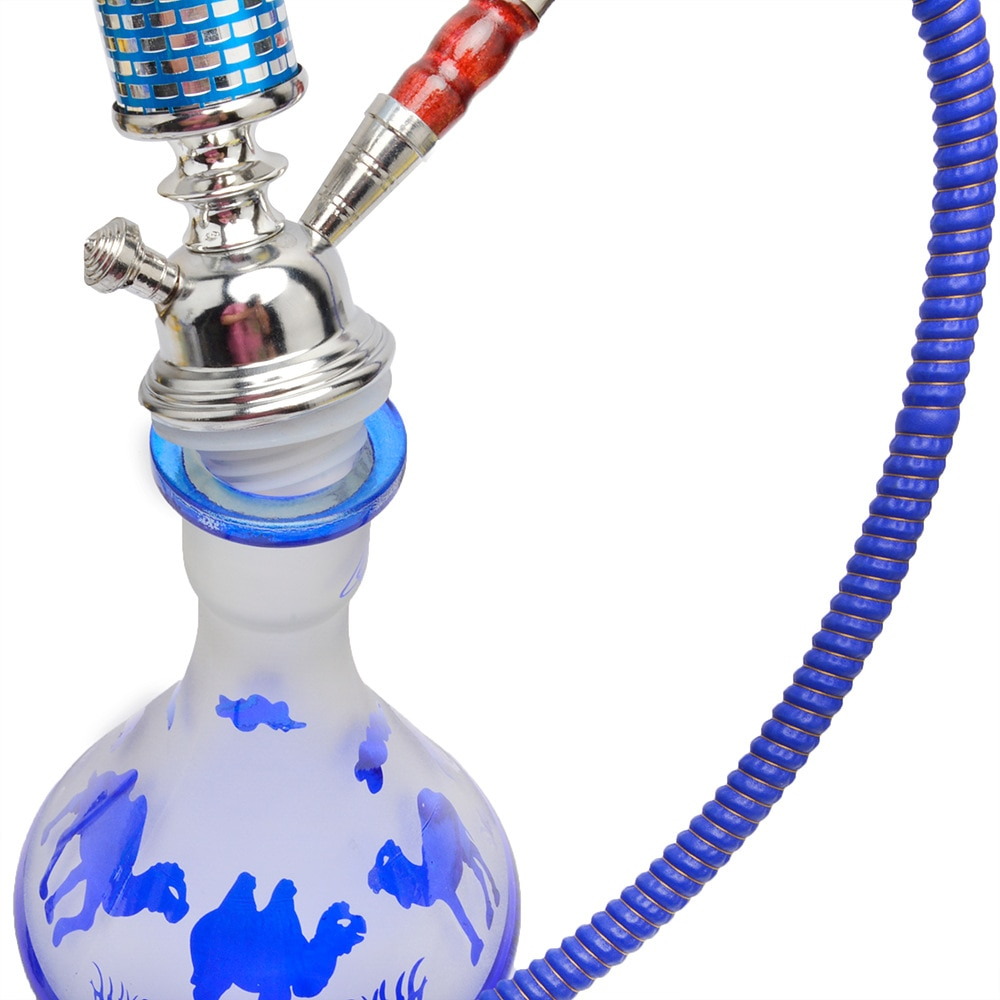 DEJAYA Glass Hookah Narguile Pipa Completo Chicha Shisha Pipe Cachimba Pipas Sisha Nargile Smoking Accessories enlarge