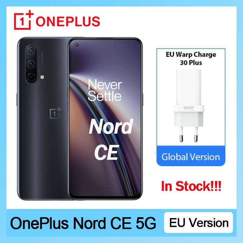 Смартфон OnePlus Nord CE, европейская версия, Snapdragon 750G, 8 ГБ, 128 ГБ, 90 Гц, Amoled экран, деформация заряда 30T Plus, 4500 мАч
