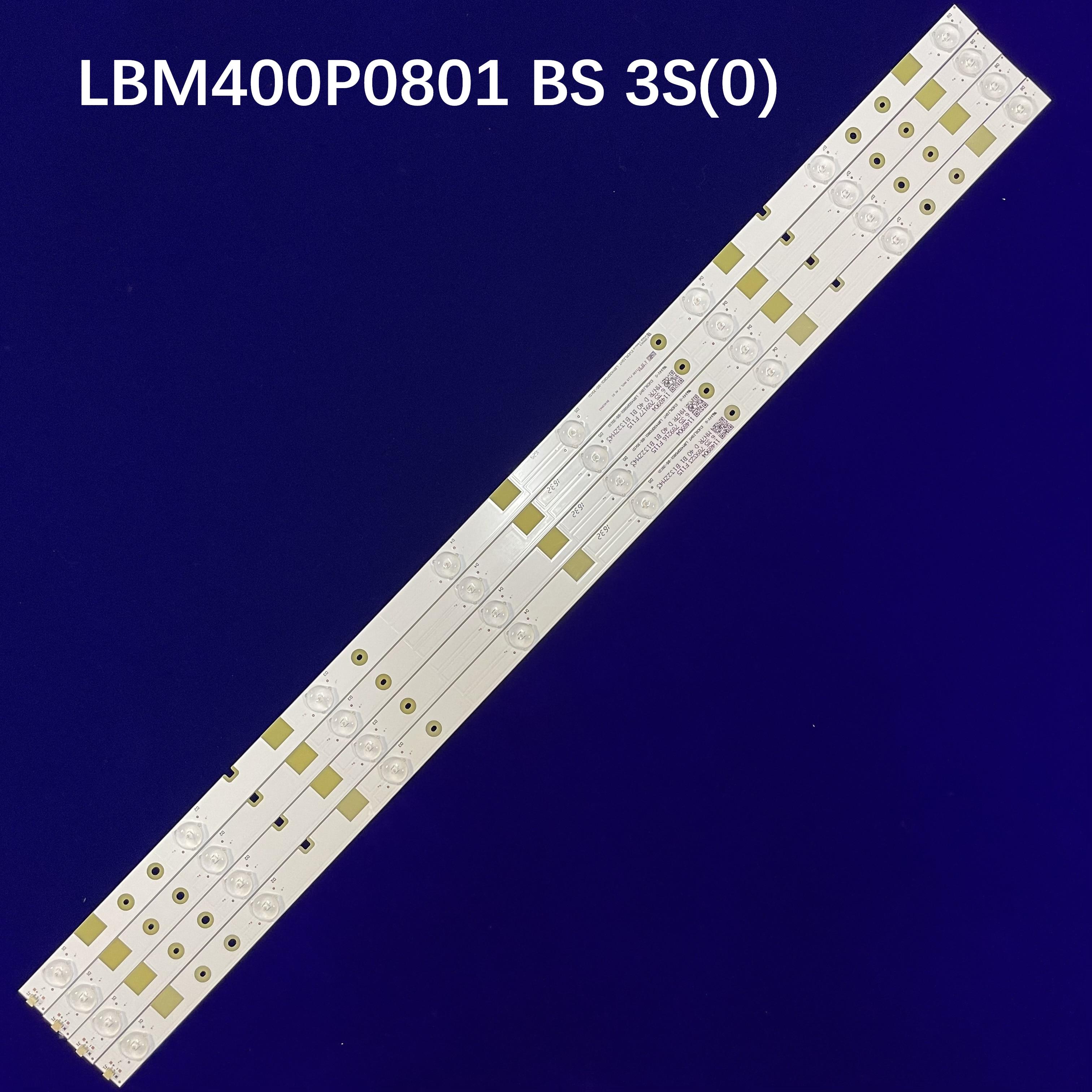 LED شريط إضاءة خلفي 8 المصابيح ل هايسنس 40 ''التلفزيون LBM400P0801-BS-3S(0) LED40K160JD LED40K300U LED40K5100U LED40EC520UA HD400DU-B31
