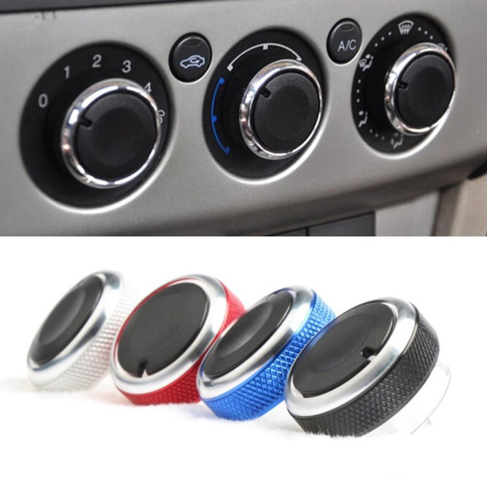 3Pcs Car Air Conditioning Knob Stylish Control Switch for Ford Focus 2 3 Mondeo