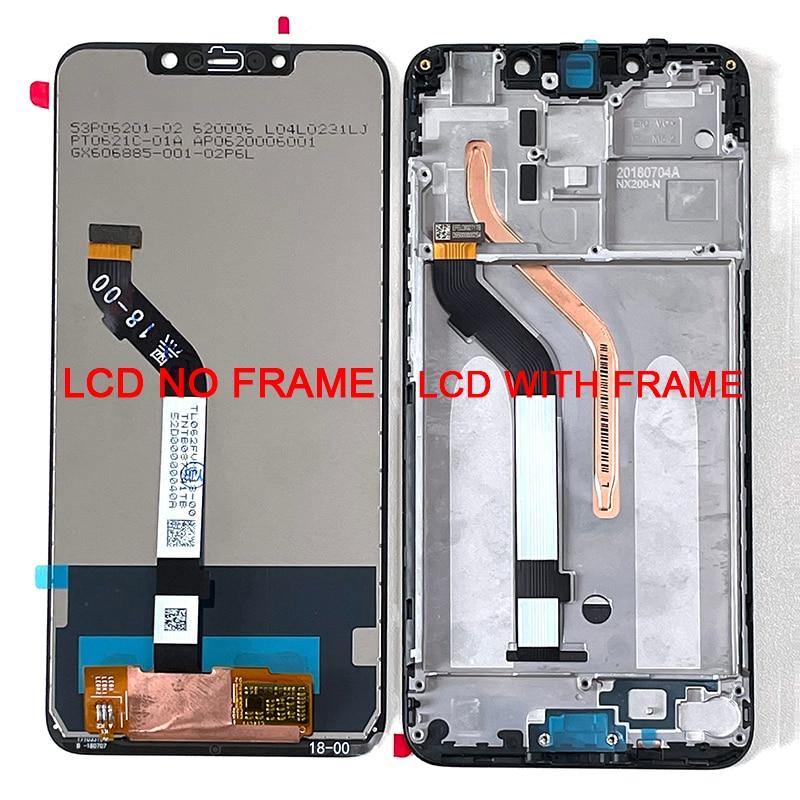 M & Sen-شاشة LCD ولمس ومحوّل أرقام ، جديدة ، أصلية ، 6.18 إنش, ل Xiaomi Poco F1 Mi Poco F1 MI Pocophone F1