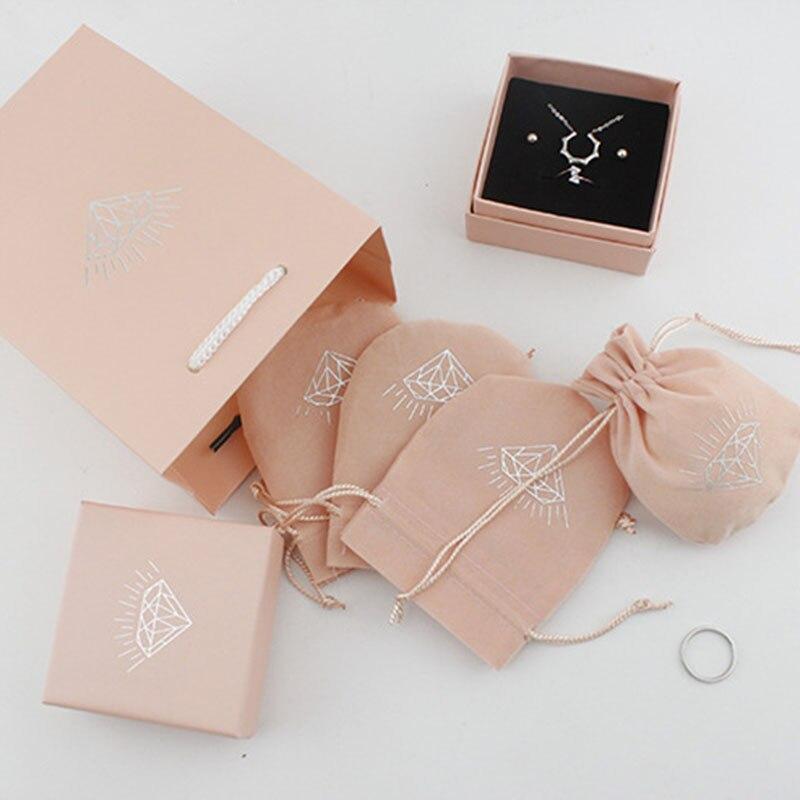 Envío Directo pendientes anillo collar joyería regalo caja bolsa de terciopelo bolsa de regalo, solo para comprar otros artículos no se vende individualmente