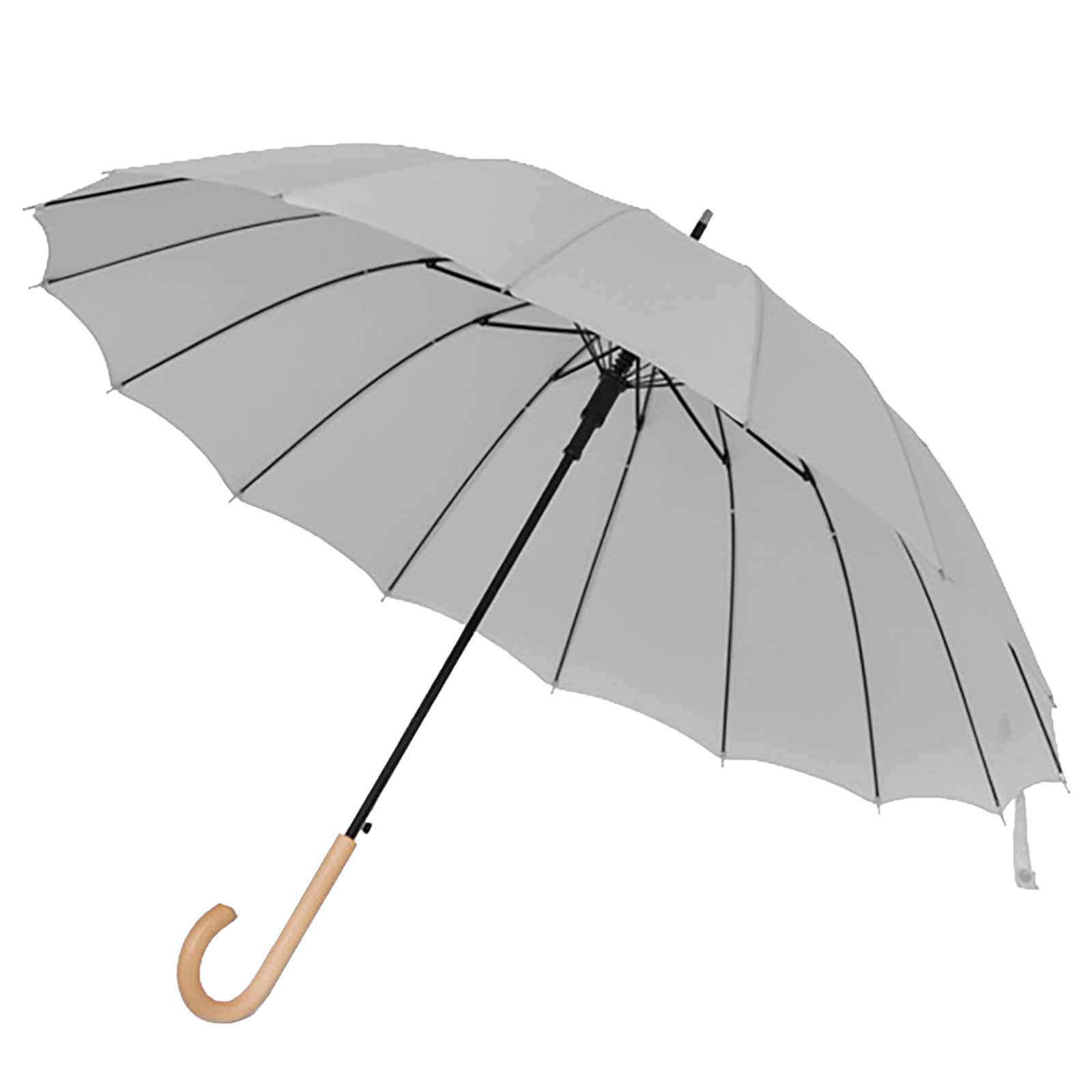 Большой зонт с деревянной ручкой, дождевой зонт для женщин, деловые зонты для гольфа, зонты для патио, уличный дизайнерский зонтик с защитой ...