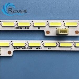 LED Backlight strip 42leds for Sharp 65'' TV HE650HU-B01 LC-65N7000U V650DJ4-QS5 LED65EC660US LED65K5500U H65M5500 HE65K5510UWTS