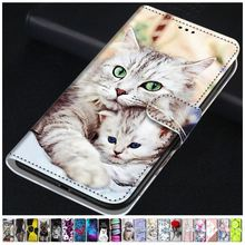 Fashion Printed Leather Holster For Case Huawei Honor Honor 20 10 9 8 Lite 9X 6A 6C Pro 7S 8S V9 Pla