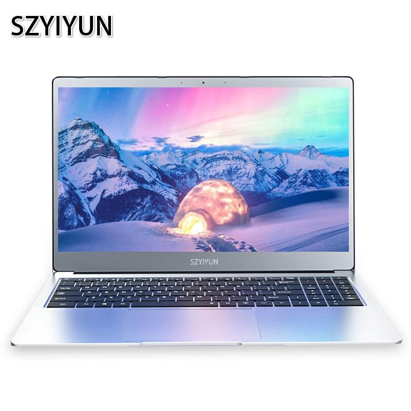 I7-5500U 15.6 Polegada metal magro portátil 1920*1080p tela 16g escritório notebook 2020 novo portátil estudante netbook computador de trabalho