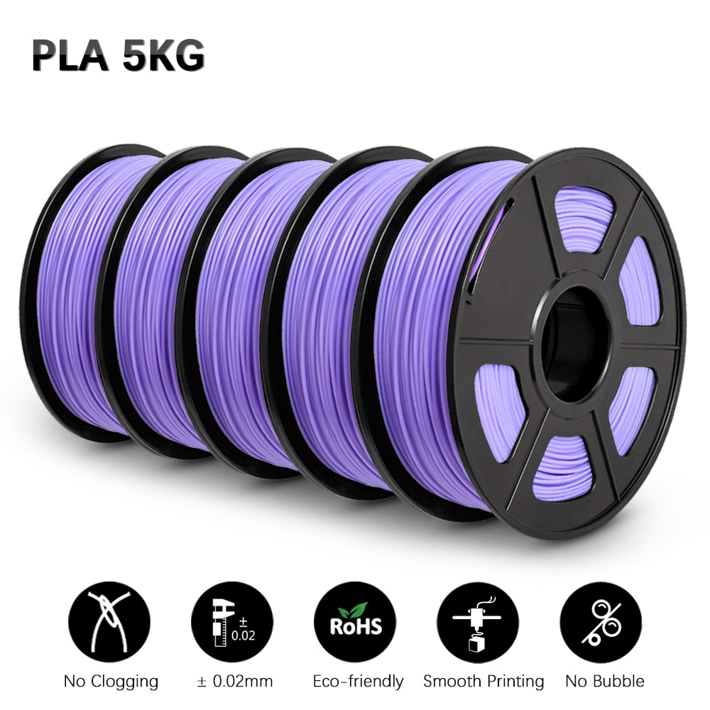 GOHIGH PLA Filament For 3D Printer Filament 5KG PLA  some PLA Color Biodegradable Eco-friendly Printing Materials