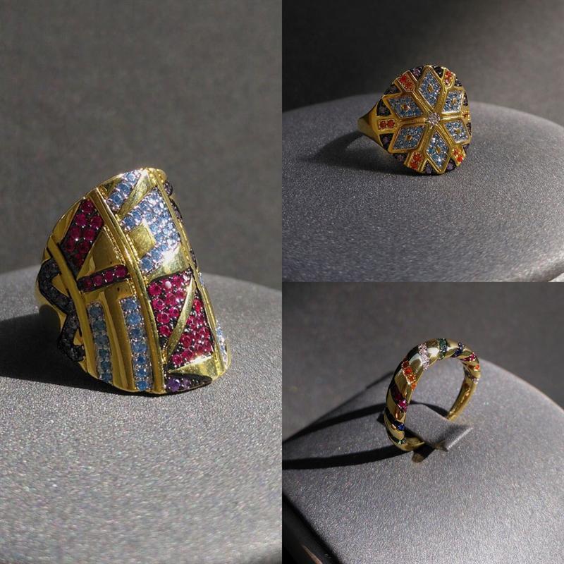 Женское-кольцо-из-серебра-100-пробы-с-геометрическим-рисунком