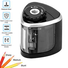 Electric Pencil Sharpener Blade for Kids School Stationery Office Home supplies Battery-Powered Safe
